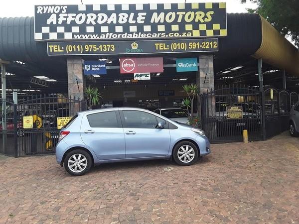 2012 Toyota Yaris 1.3 Xs Cvt 5dr  Gauteng Kempton Park_0