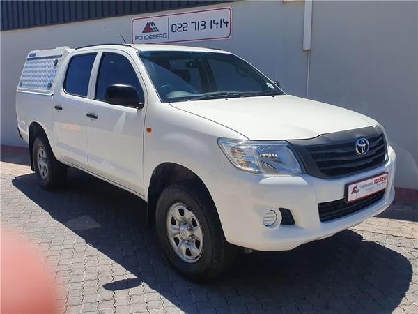 2013 Toyota Hilux 2.5d-4d Srx 4x4 Pu Dc  Western Cape Vredenburg_0
