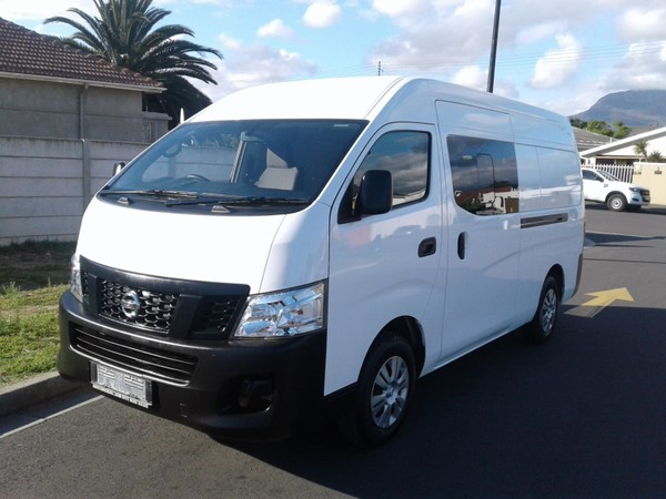2018 Nissan NV350 2.5dCi Wide FC Panel van Western Cape Strand_0