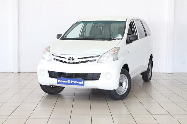 2014 Toyota Avanza 1.3 S Fc Pv  Western Cape Strand_0