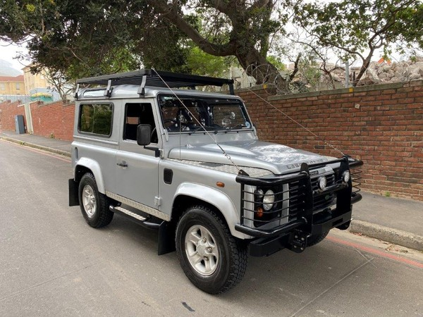 2007 Land Rover Defender 90 2.5 Td5 Csw  Western Cape Cape Town_0