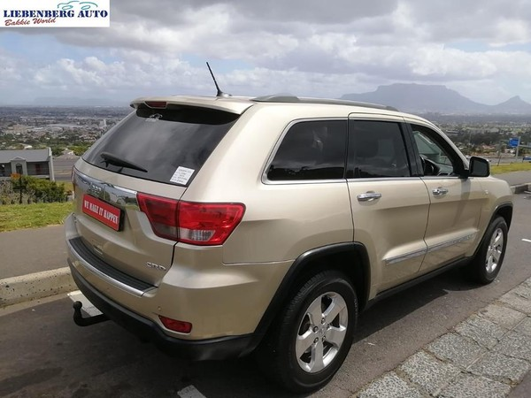 2012 Jeep Grand Cherokee 3.0 Crd Limited  Western Cape Cape Town_0