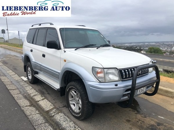1997 Toyota Prado Gx 3.0 Tdi 5d  Western Cape Cape Town_0