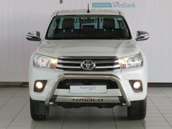 2017 Toyota Hilux 2.8 GD-6 RB Raider Double Cab Bakkie Auto Mpumalanga Ermelo_0