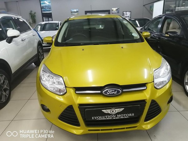 2011 Ford Focus 1.6 Ti Vct Trend  Western Cape Parow_0