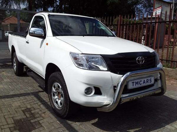2014 Toyota Hilux 2.5 D-4d Pu Sc  Gauteng Bramley_0