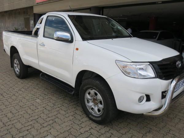 2014 Toyota Hilux 2014 TOYOTA HILUX 2.5 D4D SINGLE CAB  MANUAL Gauteng Bramley_0