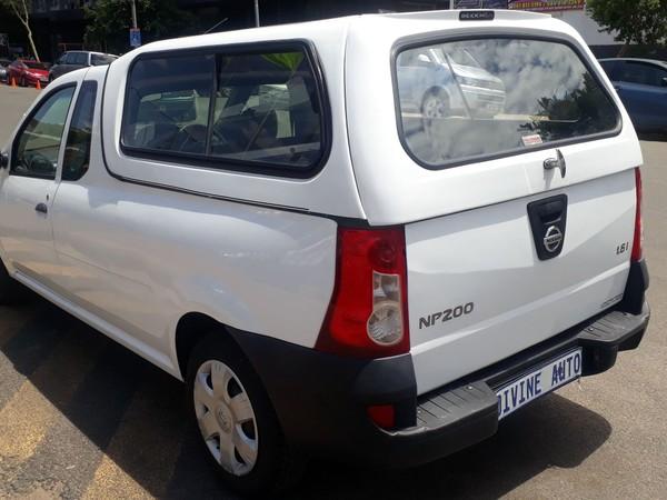 2013 Nissan NP200 1.6  Pu Sc Petrol. Gauteng Jeppestown_0