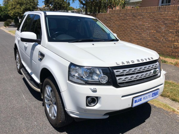 2013 Land Rover Freelander Ii 2.2 Sd4 S At  Western Cape Cape Town_0