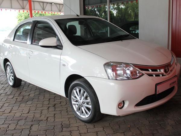 2016 Toyota Etios 1.5 Xs  Western Cape Paarl_0