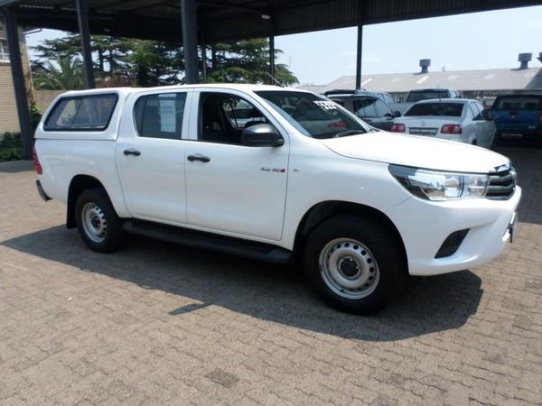 2016 Toyota Hilux 2.4 GD-6 SRX 4x4 Double Cab Bakkie Mpumalanga Ermelo_0