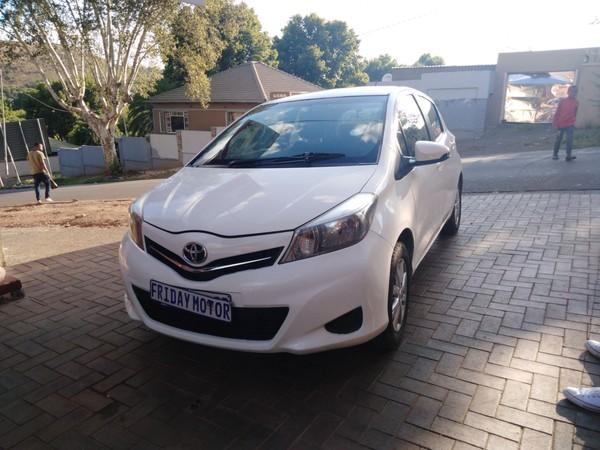 2012 Toyota Yaris 1.3 Xs 5dr  Gauteng Johannesburg_0