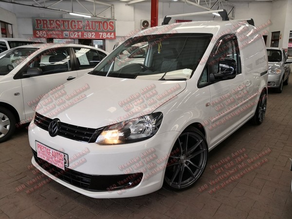 2012 Volkswagen Caddy 1.6i Fc Pv  Western Cape Goodwood_0