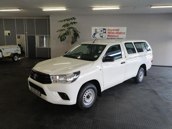 2017 Toyota Hilux 2.4 GD AC Single Cab Bakkie Western Cape Goodwood_0
