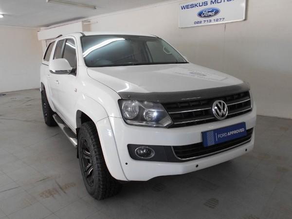 2014 Volkswagen Amarok 2.0 BiTDi Highline 132KW 4MOT Auto Double cab bakk Western Cape Vredenburg_0