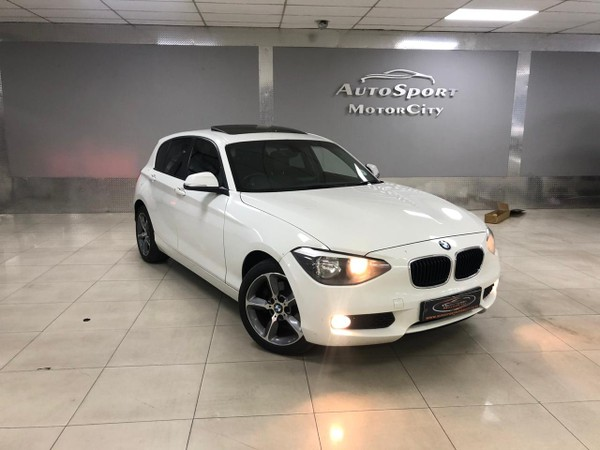 2014 BMW 1 Series 118i 5DR Auto f20 Gauteng Benoni_0