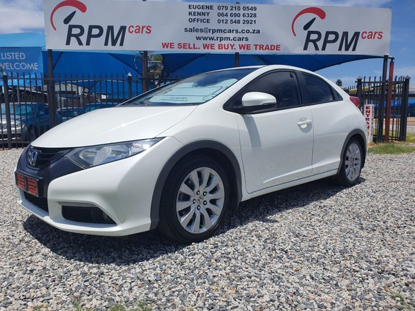 2013 Honda Civic 1.6i DTEC Executive 5-Door Gauteng Pretoria_0