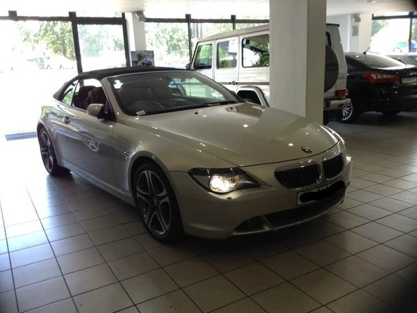 2005 BMW 6 Series 645ci Convertible At e64  Western Cape Claremont_0