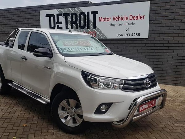 2017 Toyota Hilux 2.4 GD-6 RB SRX PU ECAB Mpumalanga Nelspruit_0