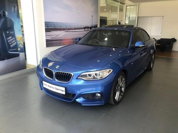 2017 BMW 2 Series 220D M Sport Auto Gauteng Springs_0