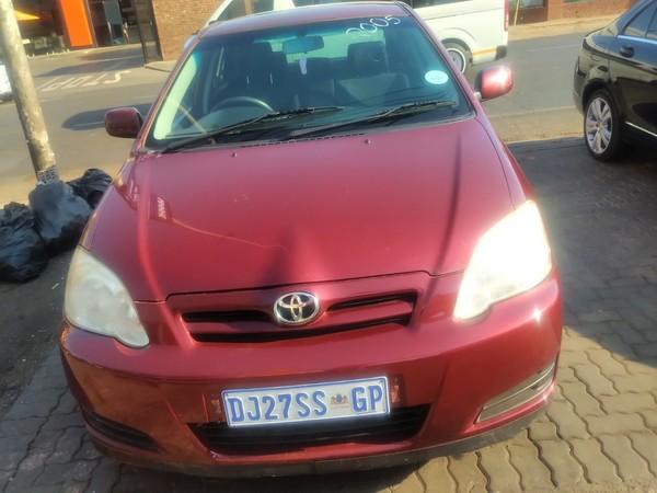 2007 Toyota RunX 140i Rs  Gauteng Pretoria_0