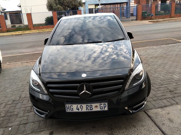 2013 Mercedes-Benz B-Class B 200 Cdi At  Gauteng Pretoria_0