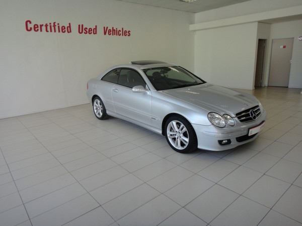 2008 Mercedes-Benz CLK-Class Clk 350 Coupe At  Western Cape Ceres_0