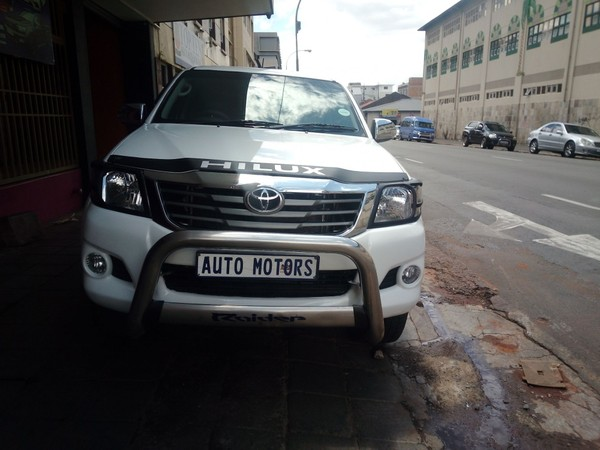 2012 Toyota Hilux 2.7 VVTi LEGEND 45 RB Double Cab Bakkie Gauteng Johannesburg_0