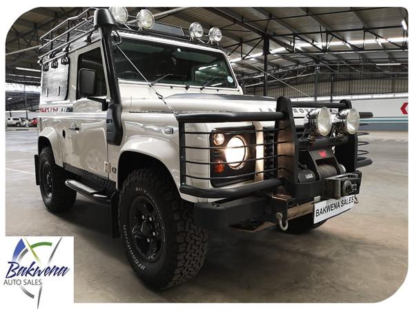 2009 Land Rover Defender Puma 90 Sw  Gauteng Karenpark_0
