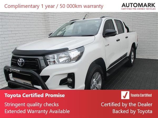 2019 Toyota Hilux 2.4 GD-6 SRX 4X4 Auto Double Cab Bakkie Gauteng Boksburg_0