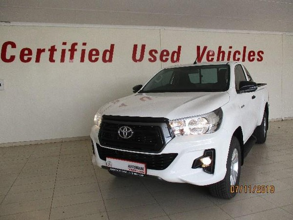 2020 Toyota Hilux 2.4 GD-6 RB SRX Auto Single Cab Bakkie Free State Bothaville_0