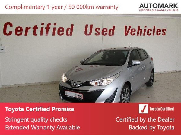 2020 Toyota Yaris 1.5 Xs CVT 5-Door Free State Bothaville_0