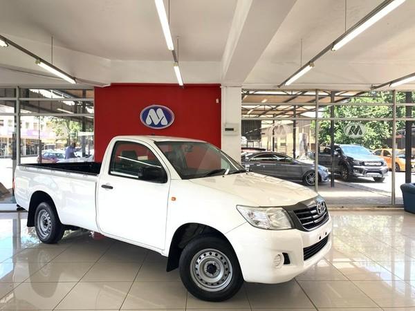 2014 Toyota Hilux 2.0 Vvti S Pu Sc  Gauteng Vereeniging_0