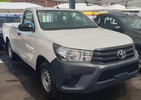 2019 Toyota Hilux 2.0 VVT Single Cab Bakkie Gauteng Pretoria_0