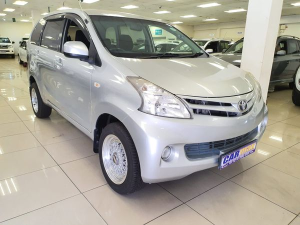 2012 Toyota Avanza 1.3 S  Kwazulu Natal Durban_0