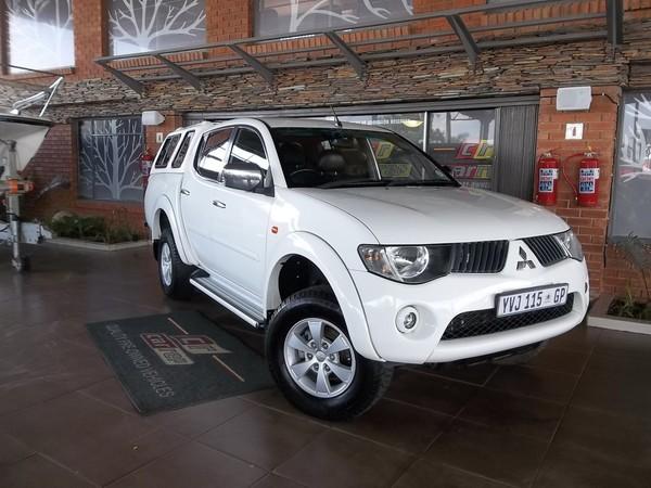 2009 Mitsubishi Triton 2.4 Mpi Pu Dc  Gauteng Boksburg_0
