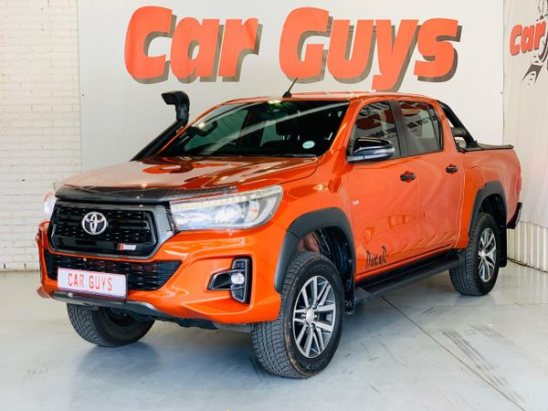 2018 Toyota Hilux 4.0 V6 Raider 4X4 Auto Double Cab Bakkie Gauteng Pretoria_0