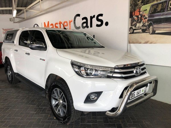 2018 Toyota Hilux 2.8 GD-6 RB Raider Double Cab Bakkie Auto Limpopo Tzaneen_0