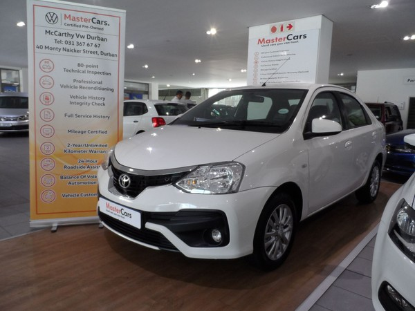 2019 Toyota Etios 1.5 Xs  Kwazulu Natal Durban_0