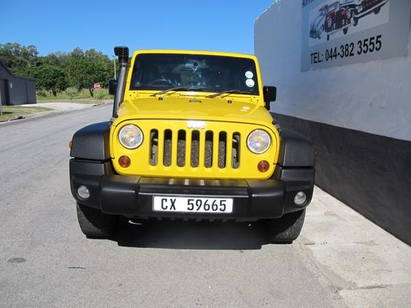 2008 Jeep Wrangler 3.8 Rubicon 2dr  Western Cape_0