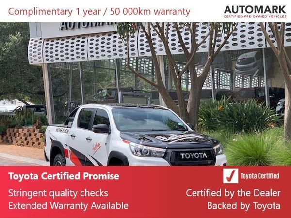 2019 Toyota Hilux 2.8 GD-6 GR-S 4X4 Auto Double Cab Bakkie Gauteng North Riding_0