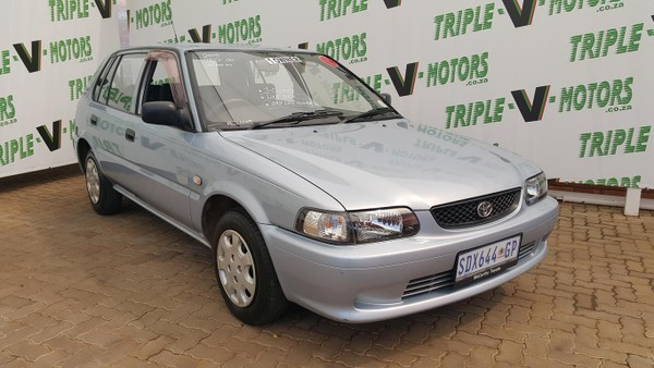 2005 Toyota Tazz 130  Gauteng Pretoria_0