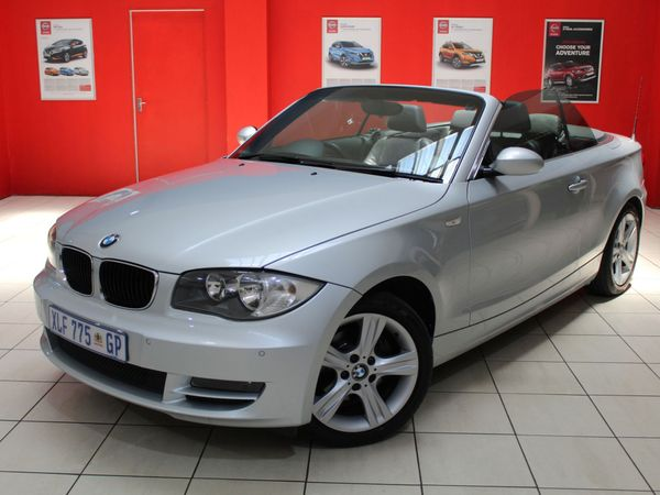 2008 BMW 1 Series 125i Convertible At  Gauteng Springs_0