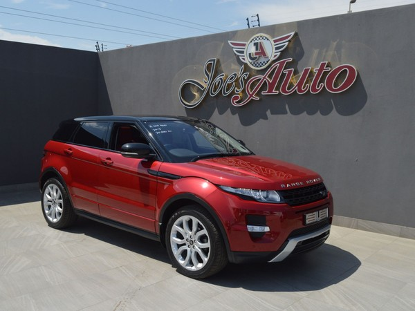 2013 Land Rover Evoque 2.2 Sd4 Prestige  Gauteng Vereeniging_0