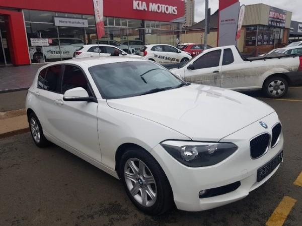 2013 BMW 1 Series 118i 5dr At f20  Kwazulu Natal Pietermaritzburg_0
