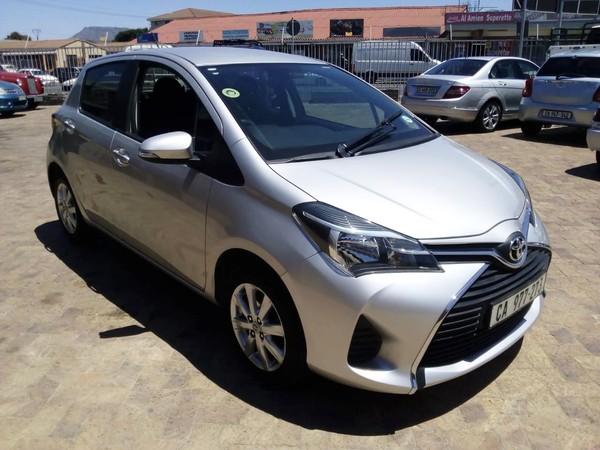 2015 Toyota Yaris 1.3 CVT 5-Door Western Cape Plumstead_0