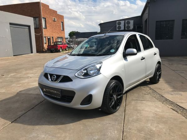 2018 Nissan Micra 1.2 Active Visia Gauteng Vanderbijlpark_0
