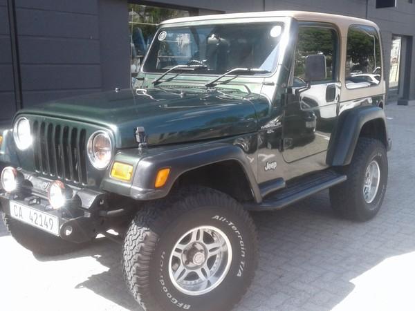 1998 Jeep Wrangler Sport Ht  Western Cape Cape Town_0