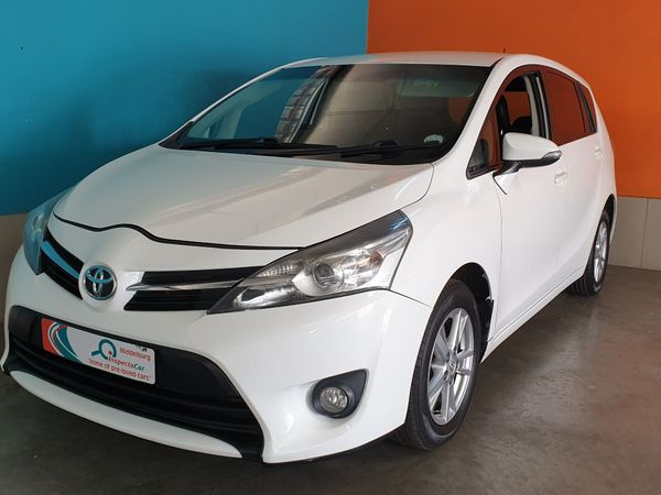 2013 Toyota Verso 1.6 SX Mpumalanga Mpumalanga_0