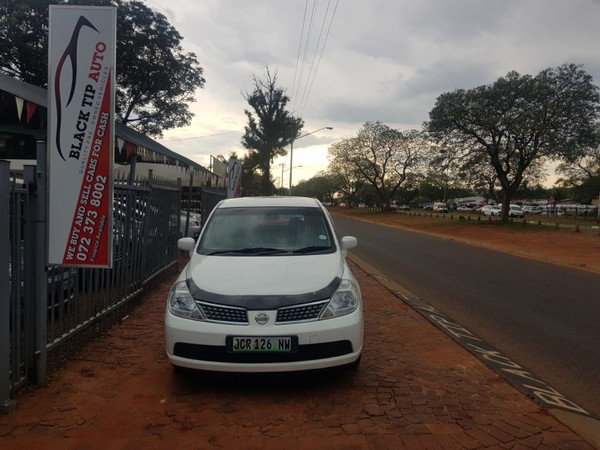 2011 Nissan Tiida 1.6 Visia  MT Hatch Gauteng Pretoria_0